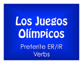 Spanish Preterite Regular ER and IR Olympics