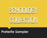 Spanish Preterite Schoology Collection Sampler