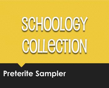 Spanish Preterite Schoology Collection Sampler