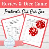 Spanish Preterite Tense CAR GAR ZAR Verbs Dice Game