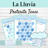 Spanish Preterite Tense La Lluvia Activities