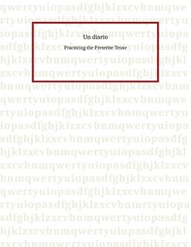 Spanish Preterite Tense: Mini Diary