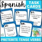 Spanish Preterite Tense Regular Verb Task Cards