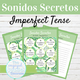 Spanish Imperfect Tense Sonidos Secretos Speaking Activity
