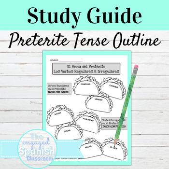 Spanish Preterite Tense Study Guide: El Pretérito de los v