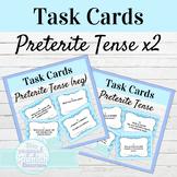Spanish Preterite Tense Task Cards Bundle