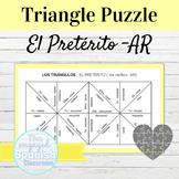 Spanish Preterite Tense AR Verbs Puzzle