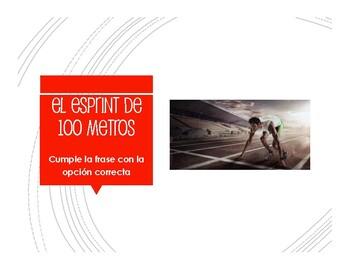 Spanish Preterite U Group Decathlon