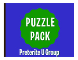 Spanish Preterite U Group Puzzle Pack