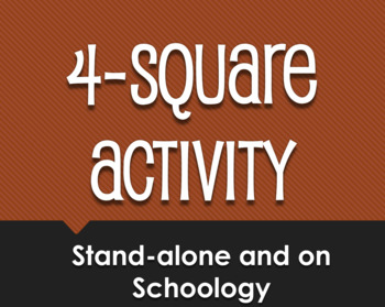 Spanish Preterite U Group Schoology Collection Sampler