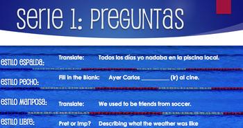 Spanish Preterite Vs Imperfect Relay Race