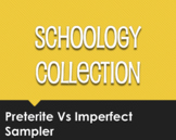 Spanish Preterite Vs Imperfect Schoology Collection for Distance Learning