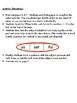 Spanish Preterite Writing Activity (Irregular Verbs)