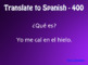 Spanish Preterite Y Group Jeopardy-Style Review Game
