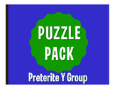 Spanish Preterite Y Group Puzzle Pack