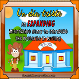Spanish Preterite and Imperfect Expanding Story #6