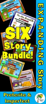 Spanish Preterite and Imperfect Expanding Story Bundle