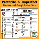 Spanish Preterite and Imperfect Habitual and Completed Act