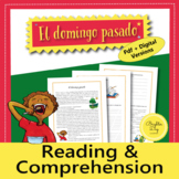 Spanish Preterite and Imperfect Reading, Comprehension and Grammar activities