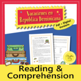 Spanish Preterite and Imperfect Reading and Activities
