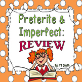 Spanish Preterite and Imperfect Review PICTURE Notes Powerpoint