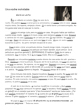Spanish Preterite and Imperfect Short Story/Reading Activity Worksheet