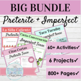 Spanish Preterite and Imperfect Tense Activities BIG BUNDLE