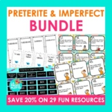 Spanish Preterite & Imperfect Tenses MEGA Bundle (Games, A