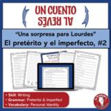 Spanish Preterite and Imperfect Writing Activity   Un cuento al revés   Identity