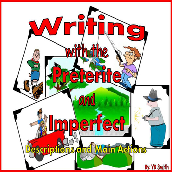 Spanish Preterite and Imperfect Writing Powerpoint Pack