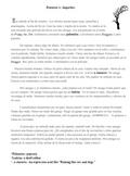 Spanish Preterite and Imperfect reading.  Imperfect vs. Preterite Google Doc