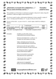 Spanish - Preterite -ar verbs (G to V) - ¿Mandaste una tarjeta de cumpleaños?