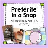 Spanish Preterite in a Snap Fun Activity Editable el pretérito lesson plan