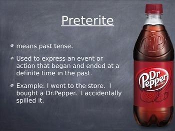 Spanish Preterite of Ir, Ser, Ver, & Dar PowerPoint Presentation Slideshow