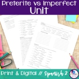 Spanish Preterite vs Imperfect Bundle