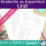 Spanish Preterite vs Imperfect Bundle