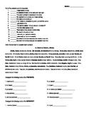 Spanish Preterite vs Imperfect Worksheet Bundle