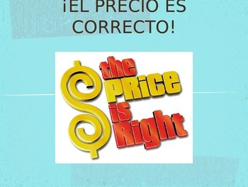 Spanish Price is Right Game