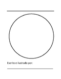 Spanish Primary Writing Book Template - Full Size