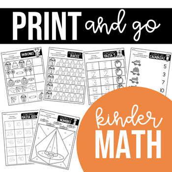 Spanish Print and go! - October