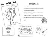 Bundle of Spanish Printable Alphabet Books (Las Vocales)