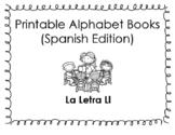 Spanish Printable Letter Book (La Letra Ll)
