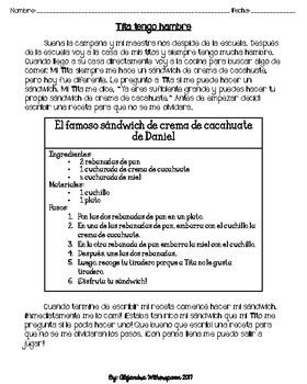 Spanish Procedural Text/Texto de procedimiento