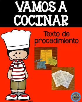 Spanish Procedural Text/Texto de procedimiento