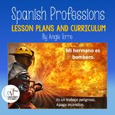 Spanish Professions Las profesiones y carreras Lesson Plans and Curriculum
