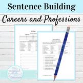 Spanish Careers Sentence Building Worksheet