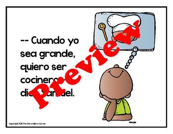 Spanish Professions Story - Cuando yo sea grande