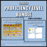 Spanish Proficiency Level Bundle