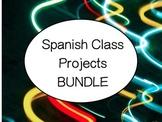 Spanish Project Bundle - Hispanic Countries, Hispanic Heritage, Hispanic Culture