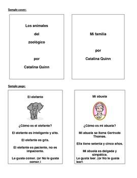 Spanish Project: Create A Children's Book!